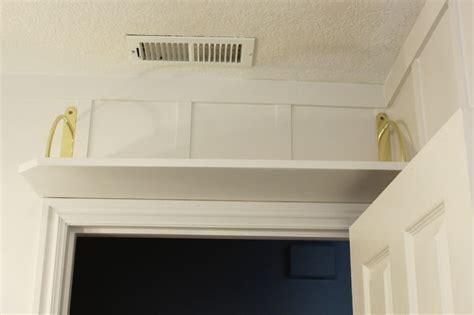 shelf over bathroom door diy simple above the door bathroom storage shelf