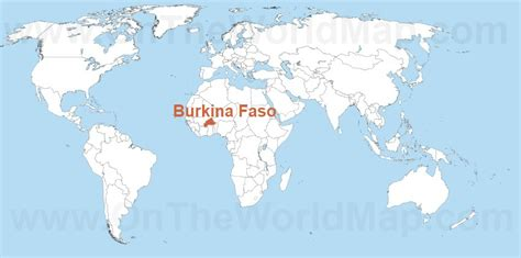burkina faso world map burkina faso on the world map burkina faso on the africa map