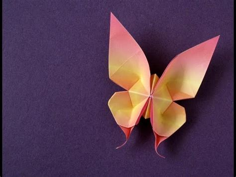 Tutorial Origami Swallowtail Butterfly | zebroid tv