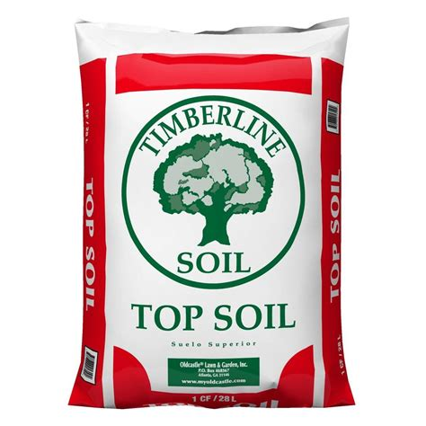 Pro Mix Soil Home Depot by Timberline 1 Cu Ft Top Soil 50051562 The Home Depot