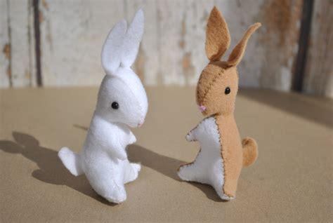 pattern for felt rabbit itty bitty bunny pattern delilah iris