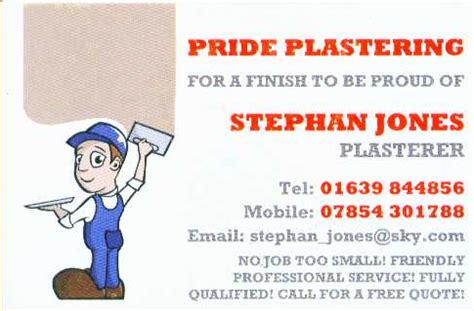 plastering business cards templates image plastering business cards