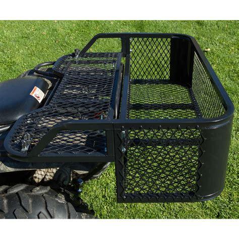 steel mesh atv rear rack drop basket atvdb 4315 discount