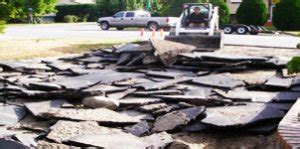 asphalt driveway removal costs hometown