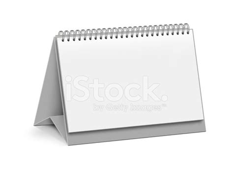 spiral bound stand up desk calendar blank page desktop calendar stock photos freeimages com