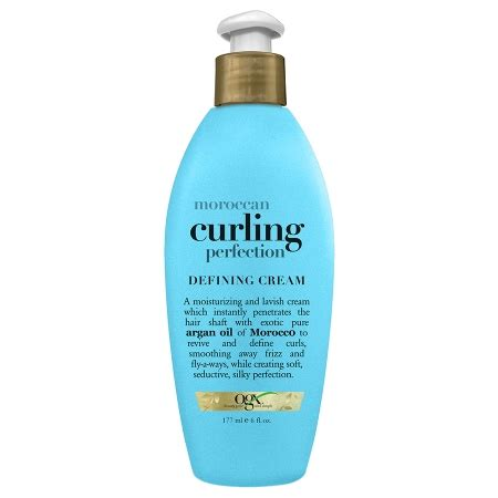 best drug store curling lroducts ogx moroccan curling perfection defining cream walgreens