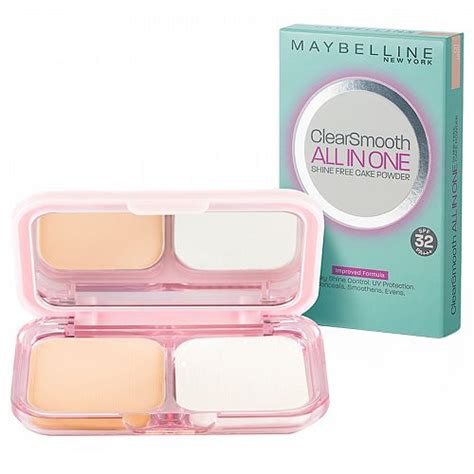 Promo Maybelline Clearsmooth All In One Original maybelline clear smooth all in one two way cake by favful
