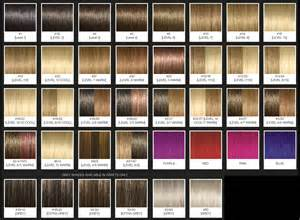 argan color argan hair color chart brown hairs