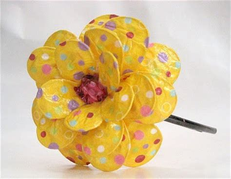 How To Make A Paper Mache Flower - etsymom team marvelous
