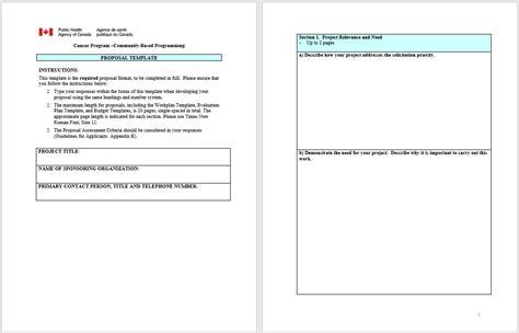 42 Free Proposal Templates Microsoft Office Templates Microsoft Office Bid Templates