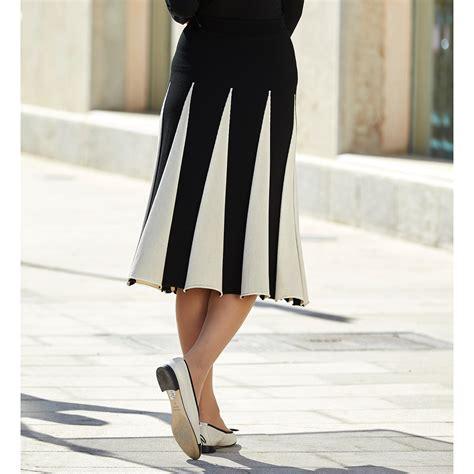 Godet Skirt set knit godet skirt