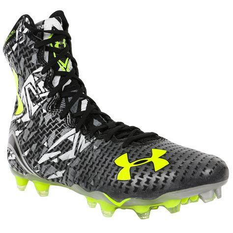 under armour highlight mc lacrosse cleats black graphite