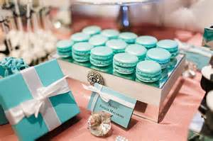 tiffany s themed bridal shower glamour amp grace