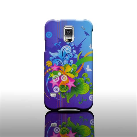 design cover samsung s5 rigid snap on fashionable design phone cover case for