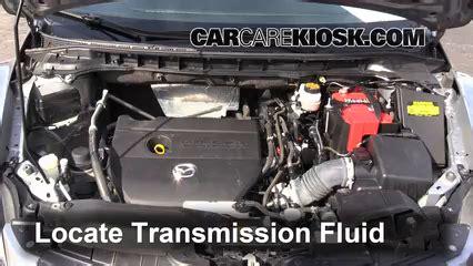 mazda 3 transmission fluid type transmission fluid level check mazda cx 7 2007 2012