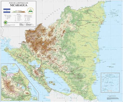 Atlas Global By T B Pustaha 5 nicaragua in numbers mapping the last mile downer