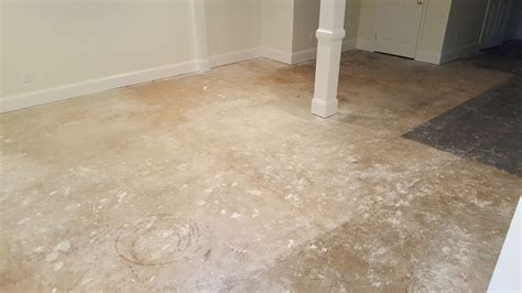 Residential Basement Epoxy Floor in Raleigh NC