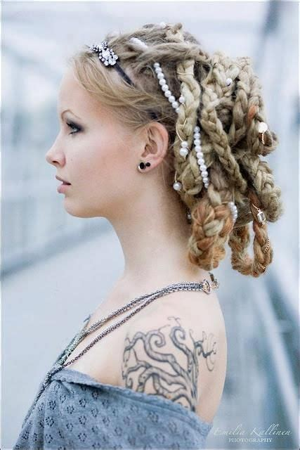 Formal Hairstyles Dreadlocks | 568 best images about wedding hairstyles locs braids