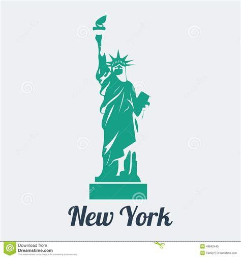 format eps en jpg vector statue of liberty stock vector illustration of