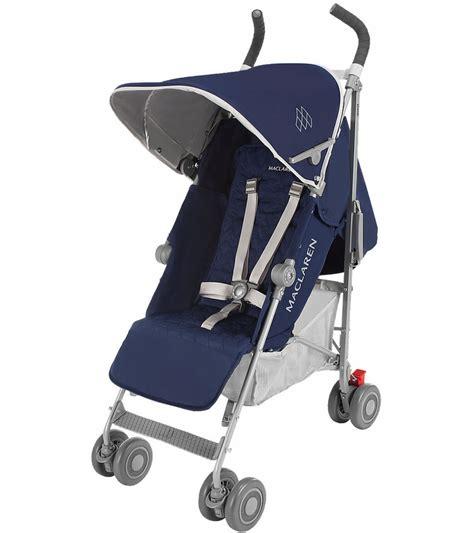 Stroller Mclaren Quest Preloved Babyloania maclaren 2016 2017 quest stroller blue silver