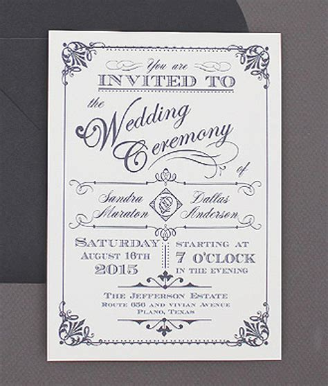 free vintage wedding invitation card template free vintage wedding invitation template orderecigsjuice