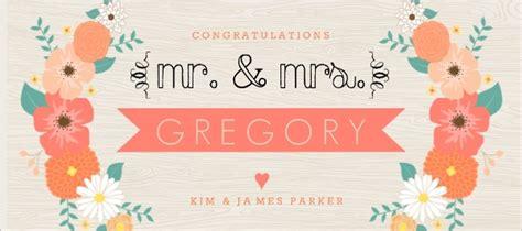 Wedding Congratulations Announcement by Modern Floral Arrangement Wedding Congratulations Card