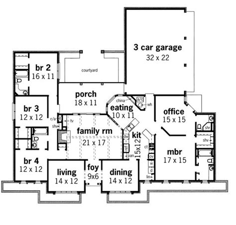 ranch style house plans with mother in law suite house plans