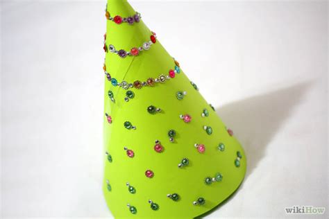 How To Make Paper Cone Hats - how to make a cone hat 6 steps with pictures wikihow