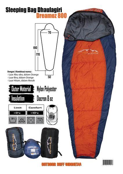 Termurah Sleeping Bag Dacron Dhaulagiri Dreamoz 800 sleeping bag restore adventure depok