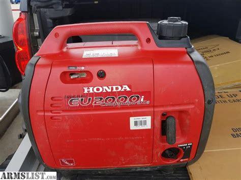 Honda Eu2000i Sale by Armslist For Sale Honda Eu2000i Inverter Generator
