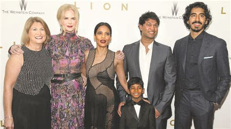 saroo brierley wife saroo and stars roars on lion red carpet premiere in new