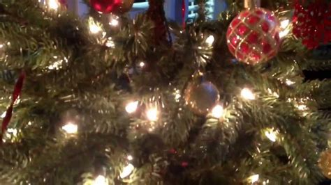 well decorated christmas tree exle youtube