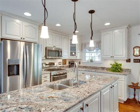 White Flower Kitchen by Best Blue Flower Granite Design Ideas Remodel Pictures