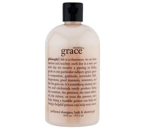 Amazing Grace Shampoo Bath Shower Gel philosophy amazing grace shampoo bath amp shower gel qvc com