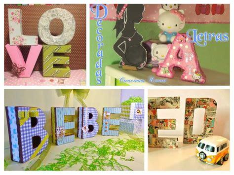 material reciclado facilisimocom letras 3d con material reciclado manualidades