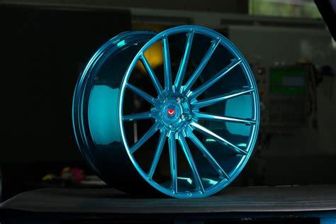 vossen vps  wheels custom painted rims