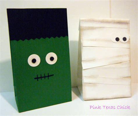 How To Make Paper Goody Bags - treat bags craft diy