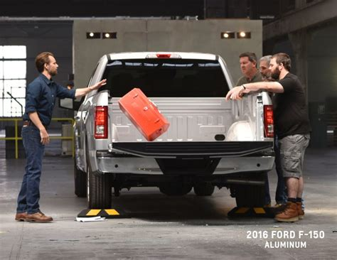 f150 aluminum bed chevy silverado bed strength ad caign how do you like your truck bed steel or