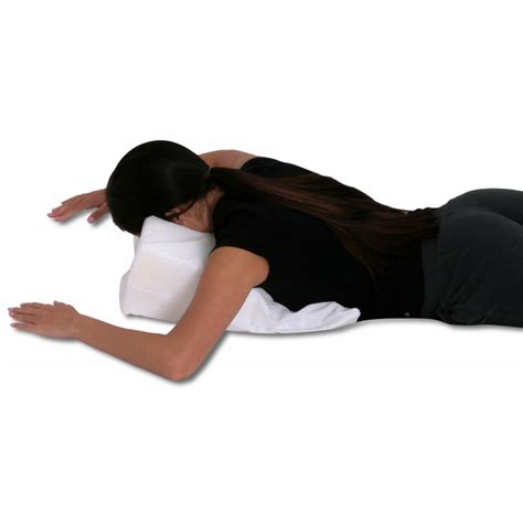 Facedown Pillow by Stomach Sleeper Pillow Two Sizes
