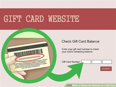Check The Balance On A Gift Card - 3 ways to check the balance on a gift card wikihow