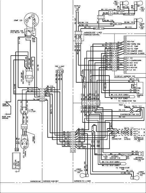 maytag refrigerator wiring diagram maytag refrigerator handles gc2225peks parts model