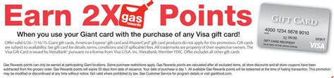 Visa Gift Card Discounts - two grocery store visa gift card deals 1 great 1 not so great miles to memories