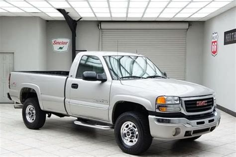 electric and cars manual 2005 gmc sierra 2500 on board diagnostic system find used 2005 sierra 2500hd diesel 4x4 sle regular cab long bed 1 owner clean in mansfield