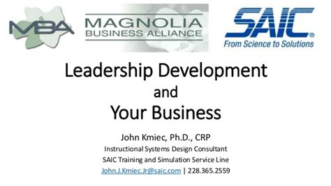 Amd Mba Leadership Development Program by Leadership Development And Your Business