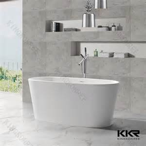 kkr polyester resin bathroom bathtub 52 inch bathtub