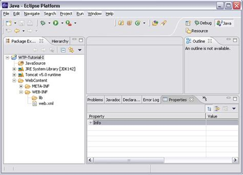 tutorial eclipse web application web tools platform