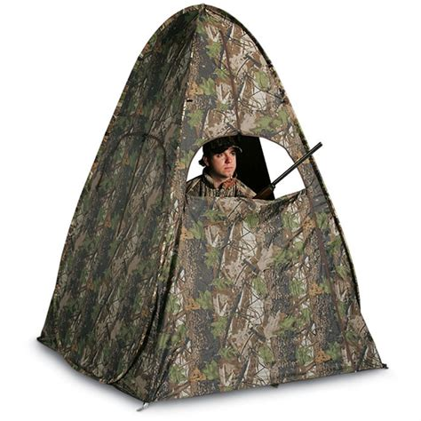 Popup Blind guide gear pro series magnum pop up blind 85133 ground blinds at sportsman s guide