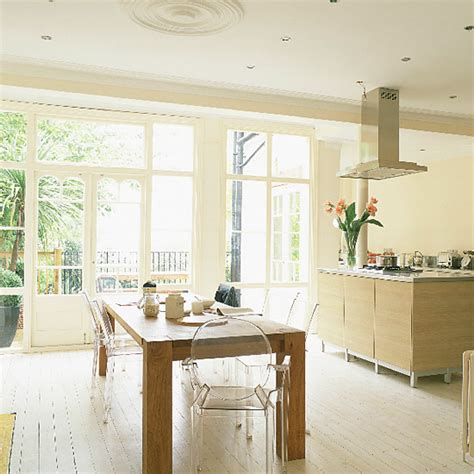 ways to make a victorian kitchen island 735 house decor kitchen diner with a wall of french windows ideal home