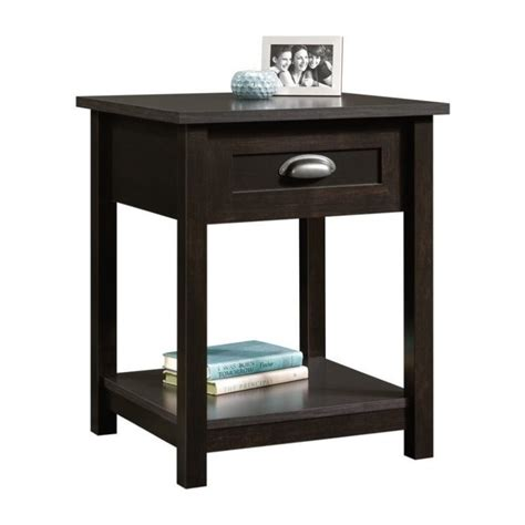 L For Nightstand Nightstand In Estate Black 416744