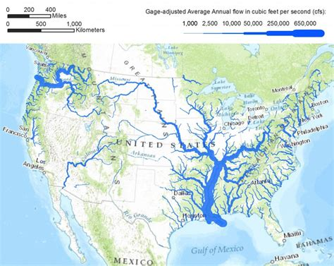 us map with 5 major rivers cities in peril las vegas earth 111 water science and